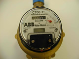 ABB 5/8 x 3/4 Dial with LCD Reset